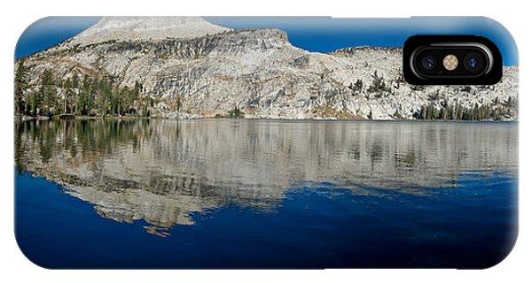May Lake Panorama IPhone Case