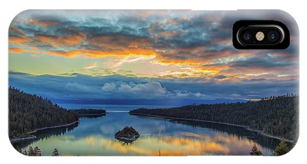 May Sunrise At Emerald Bay IPhone Case