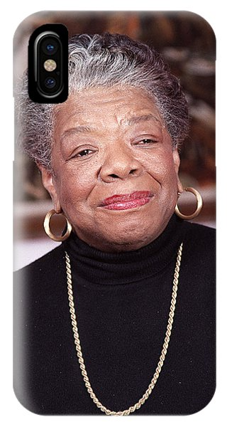 Maya iPhone Case - Maya Angelou by Robert Ponzoni