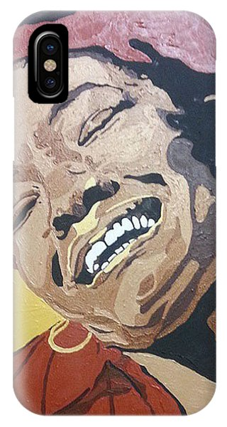 Maya Angelou IPhone Case