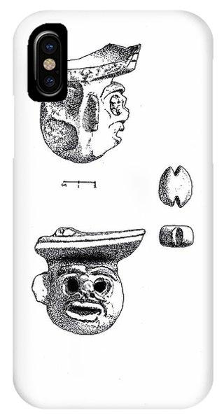 Maya Ceramic Head IPhone Case