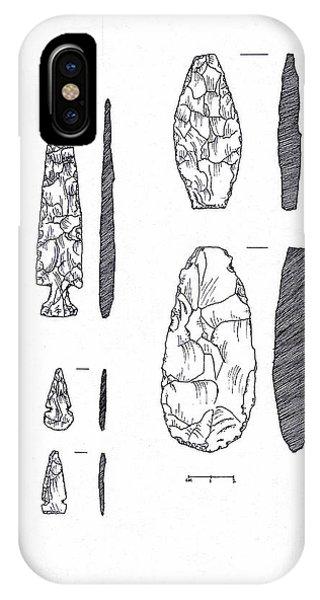 Maya Stone Tools IPhone Case