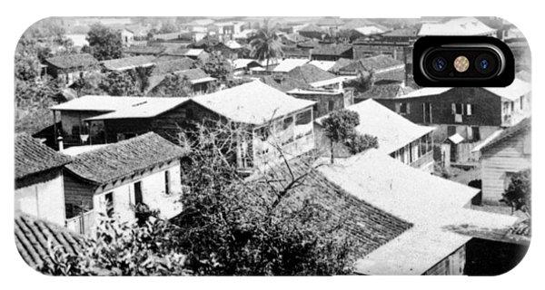 Mayaguez - Puerto Rico - C 1900 IPhone Case