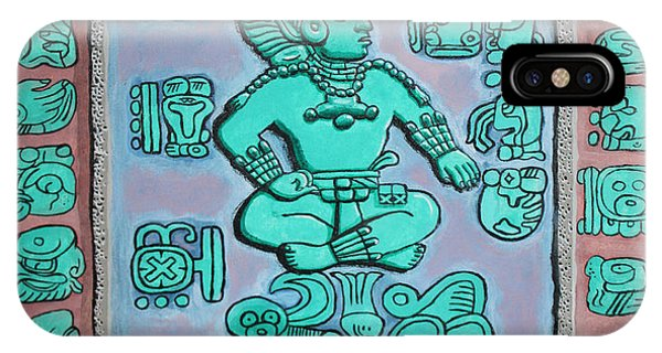 Mayan Prince IPhone Case