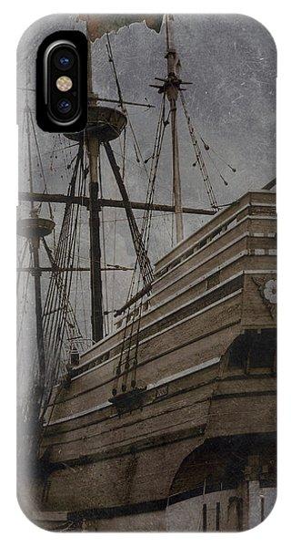 Mayflower 1 IPhone Case