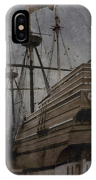 Mayflower 1 IPhone Case