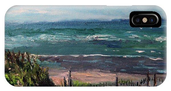 Mayflower Beach IPhone Case