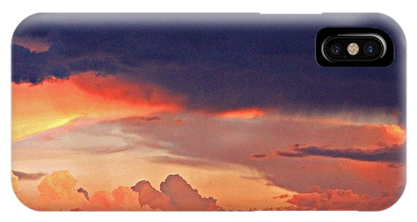 Mazatzal Peak Sunset IPhone Case