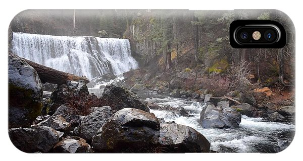 Mccloud Middle Fall IPhone Case
