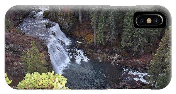 Mccloud River Falls IPhone Case