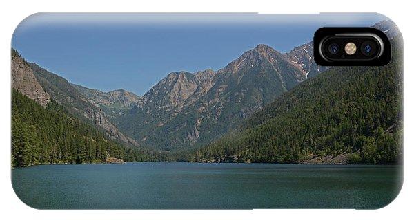 Mcdonald Lake- Ronan Montana IPhone Case