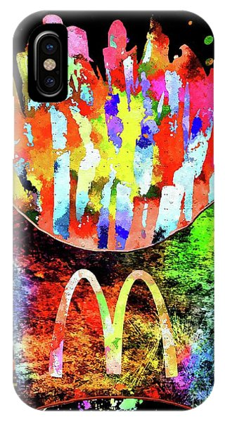 Mcdonald's French Fries Grunge IPhone Case