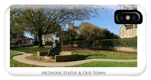Mcindoe Statue IPhone Case