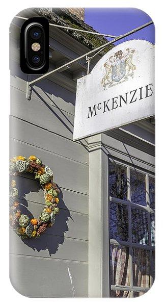 Mckenzie Apothecary Christmas 2014 IPhone Case