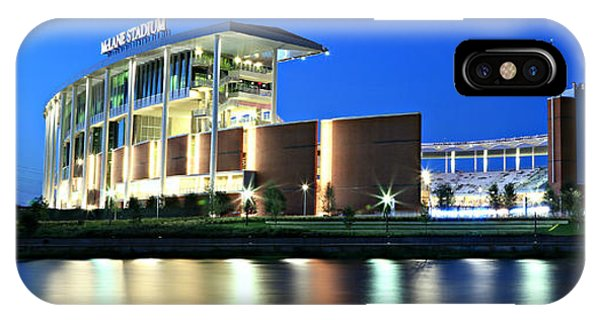 Mclane Stadium Panoramic IPhone Case