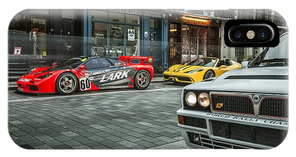 Mclaren F1 Gtr With Speciale And Integrale  IPhone Case