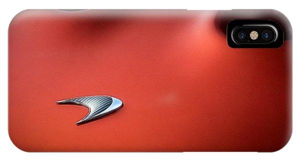 Chrome iPhone Case - Mclaren P1 by Douglas Pittman