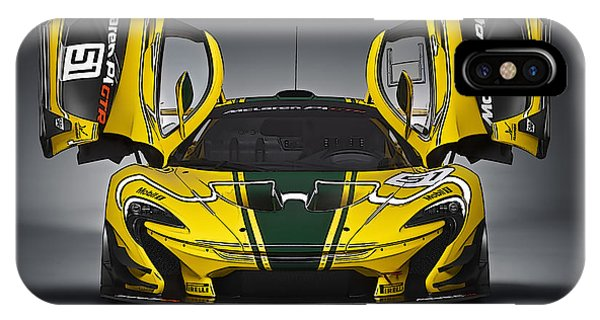 Mclaren P1 Gtr IPhone Case