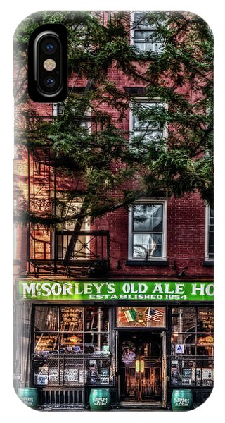 iPhone Case - Mcsorley's Old Ale House Nyc by Susan Candelario