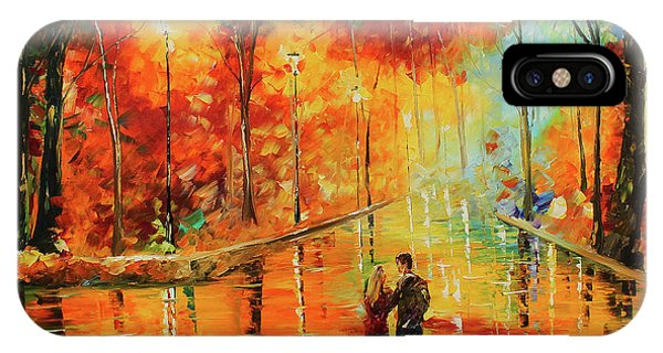 IPhone Case featuring the painting Me And My Girl by Kevin Brown