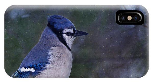 Me Minus You - Blue IPhone Case