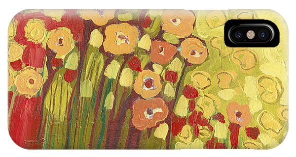 Floral iPhone X Case - Meadow In Bloom by Jennifer Lommers