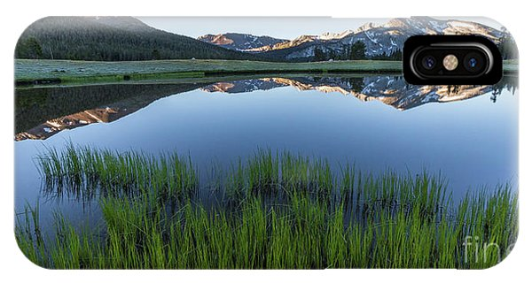 Meadow Reflections  IPhone Case