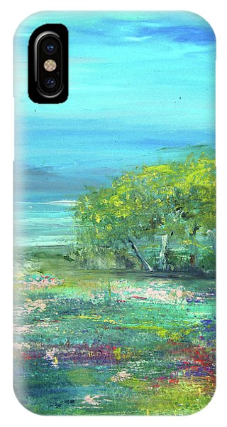 Meadow Trees IPhone Case