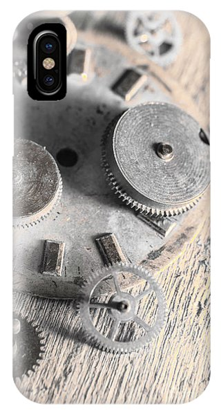 Connections iPhone Case - Mechanical Art by Jorgo Photography - Wall Art Gallery
