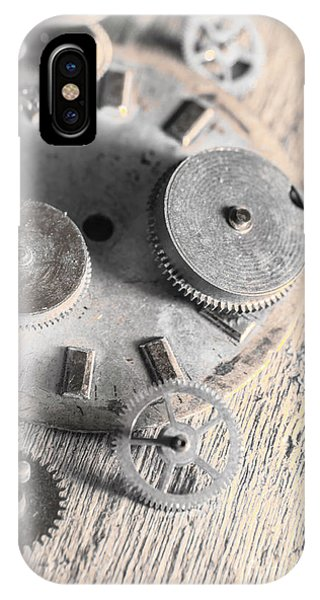 Factory iPhone Case - Mechanical Art by Jorgo Photography - Wall Art Gallery