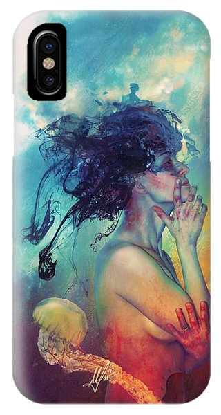 Mythology iPhone Case - Medea by Mario Sanchez Nevado
