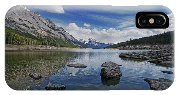 Medicine Lake, Jasper IPhone Case
