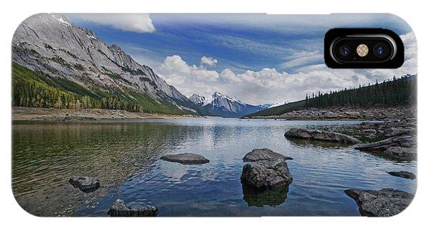 Medicine Lake, Jasper IPhone Case