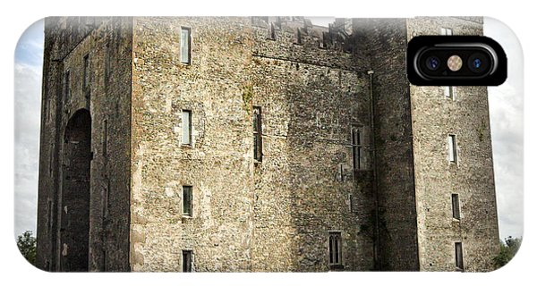 IPhone Case featuring the photograph Medieval Bunraty Castle Ireland by Pierre Leclerc Photography