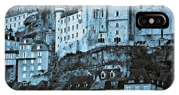Medieval Castle In The Pilgrimage Town Of Rocamadour IPhone Case