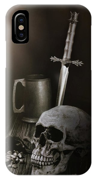 Knight iPhone Case - Medieval Still Life by Tom Mc Nemar