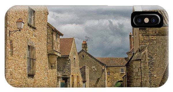 Medieval Village In France IPhone Case