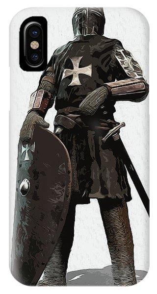 Medieval Warrior - 06 IPhone Case