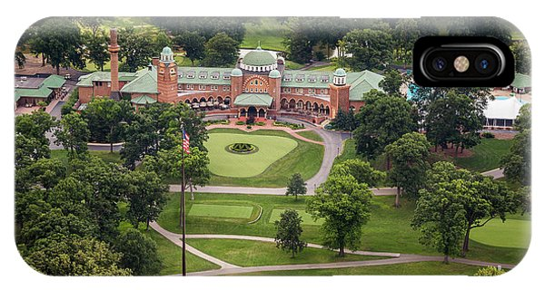 IPhone Case featuring the photograph Medinah Country Club by Adam Romanowicz