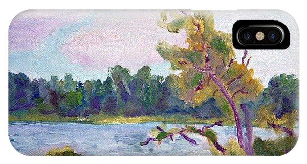 Meditation Lake  IPhone Case