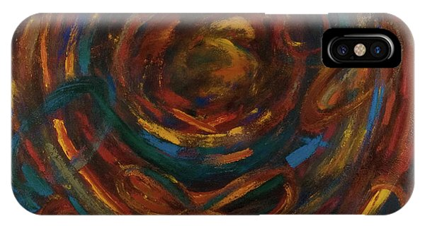 iPhone Case - Meditation Painting #1 by Gretchen Dreisbach