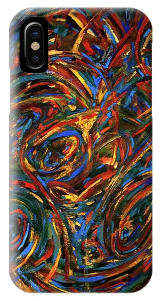 iPhone Case - Meditation Wall Painting by Gretchen Dreisbach
