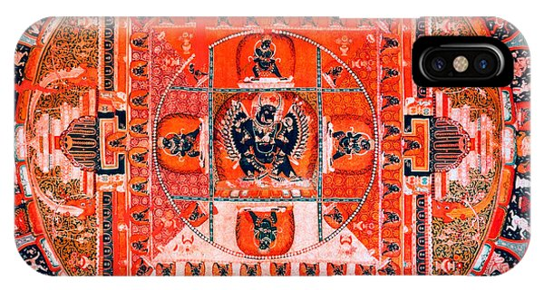 Meditation Yoga Mandala Yuan Dynasty IPhone Case