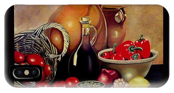 Mediterranean Appetite IPhone Case