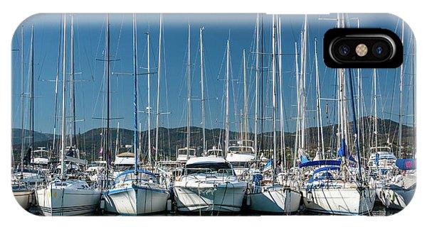 Mediterranean Marina IPhone Case