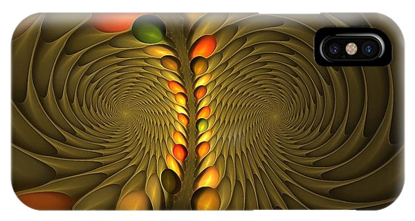 Meditirina Seed Pod IPhone Case