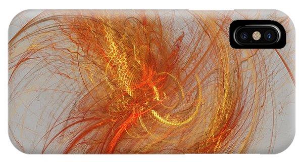 Medusa Bad Hair Day - Fractal IPhone Case