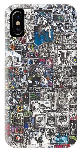 Mythology iPhone Case - Medusa Maze by Zak Smith