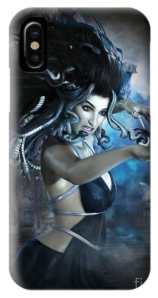 Gorgon iPhone Case - Medusa by Shanina Conway