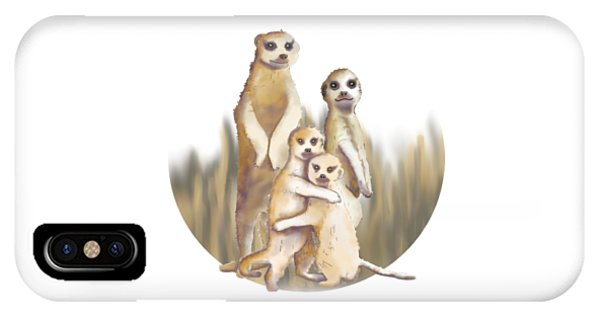 Meerkats  IPhone Case